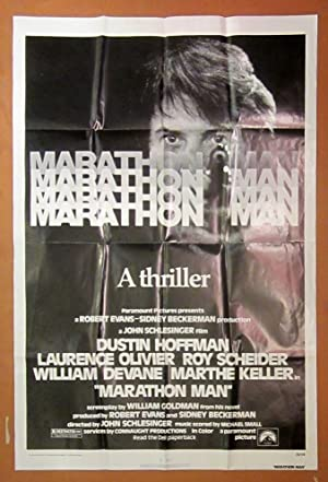 Marathon Man - Original Folded One Sheet Movie Poster(1976)