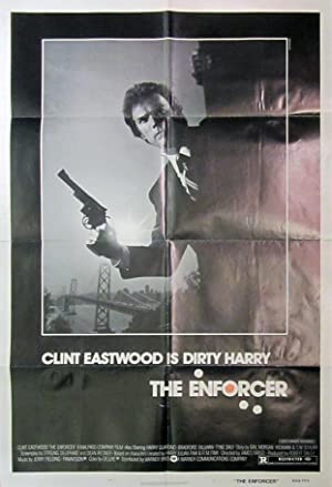 The Enforcer - Original Folded One Sheet Movie Poster(1976)