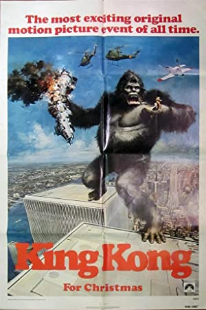 King Kong - Original Folded One Sheet Movie Poster(1976)