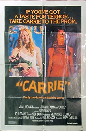 Carrie - Original Folded One Sheet Movie Poster(1976