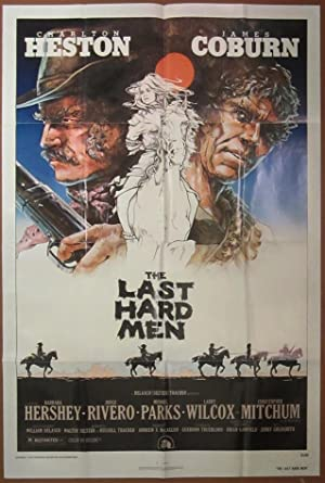 The Last Hard Men - Original Folded One Sheet Movie Poster(1976)