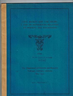 Civil Rights and the Negro; A List: Guzman, Jessie P.