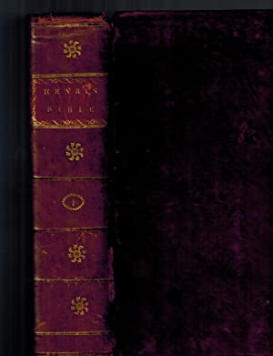 A New Family Bible, Containing the Old: Blomfield, The Rev.