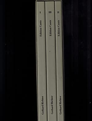 Gerhard Richter: Catalogue Raisonné 1962-1993 (3 Volumes) (English, German and French Edition)