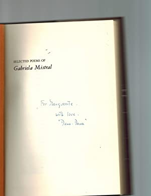 Selected Poems of Gabriela Mistral ; A Bilingual Edition