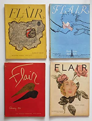 Flair Magazine February 1950, Volume 1, No.1 To January 1951, Volume 2, No. 1 ( Complete 12 Issue...