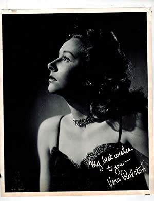Print of Inscribed Publicity Photograph