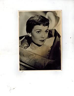 SIGNED Publicity Photograph in Gown