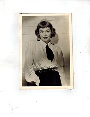 SIGNED Publicity Photograph Wearing Tie