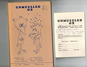 Unmuzzled Ox, Volume 1, Number 2, February 1972