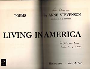 Living in America; Poems