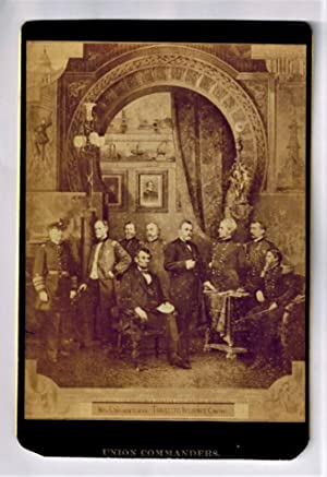 Cabinet Card ) Union Commanders