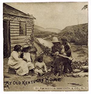Blackface Cabinet Card ) My Old Kentucky Home