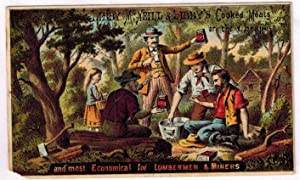 Advertising Trade Card ) Libby, McNeill & Libby Cooked Meats are Always the Cheapest and Most Eco...