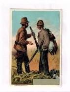 Advertising Trade Card} A.B.F. Kinney, Importer and Manufacturer's Agent for All Kinds of Guns Pa...