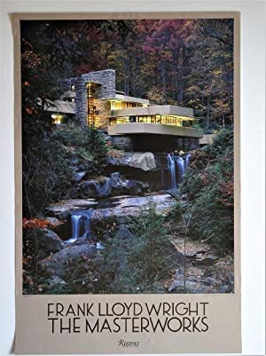 Promotional Poster for: FRANK LLOYD WRIGHT The Masterworks