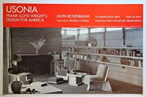 Promotional Poster: USONIA Frank Lloyd Wright's Design for America
