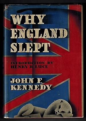 Why England Slept: Kennedy, John F.;