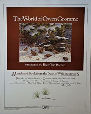 The World of Owen Gromme; A Landmark Book from the Dean of Wildlife Artists: Promotional Poster