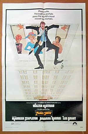 Plaza Suite- Original One Sheet Folded Movie Poster (1971)