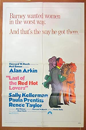 Last of the Red Hot Lovers- Original One Sheet Folded Movie Poster (1972)
