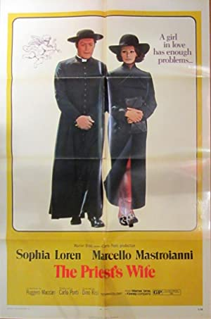 The Priest's Wife - Original Folded One Sheet Movie Poster (1971)