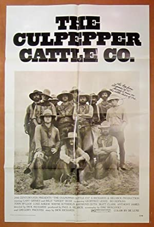 The Culpepper Cattle Co. -Original Folded One Sheet Movie Poster (1972)