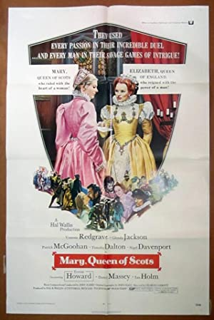 Mary, Queen of Scots- Original Folded One Sheet Movie Poster (1972)