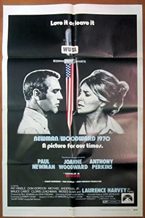 WUSA- Original Folded One Sheet Movie Poster (1971)