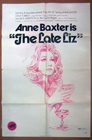 The Late Liz - Original Folded One Sheet Movie Poster (1971)