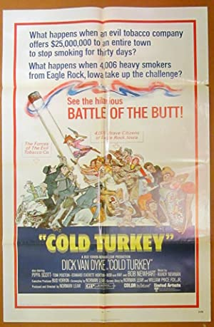 Cold Turkey - Original Folded One Sheet Movie Poster (1971)