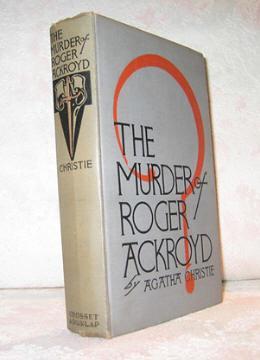 The MURDER of ROGER ACKROYD: Christie, Agatha