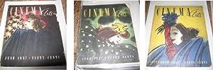 Cinema Arts - 1937 (4 Issues): Husserl, Paul (Editor)