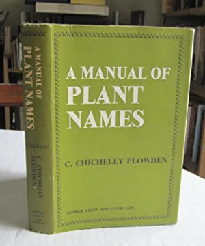 A Manual of Plant Names