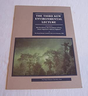 Third Kew Environmental Lecture