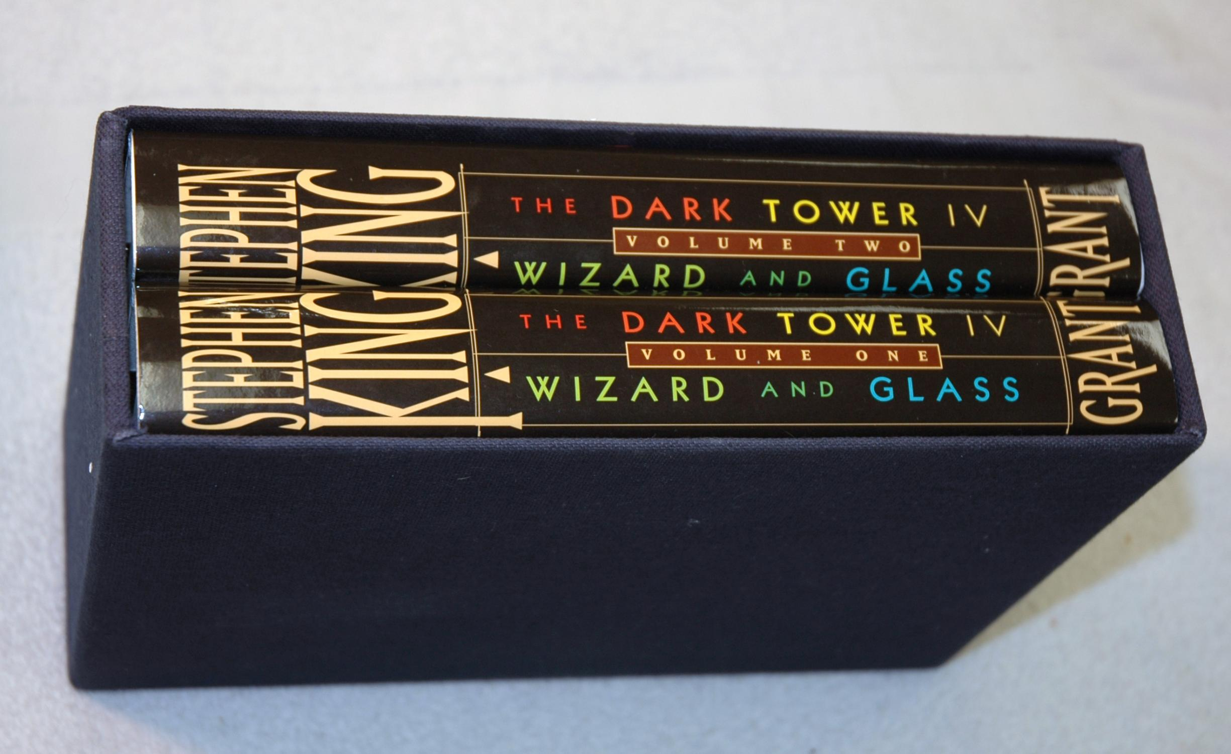 The Dark Tower IV (4) : Wizard and Glass (Signed/Limited): King, Stephen