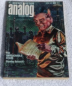 Analog Science Fiction: April 1971: Campbell, John W.