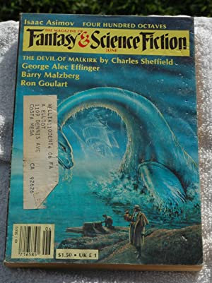 Magazine of Fantasy and Science Fiction June: Sheffield, Charles /
