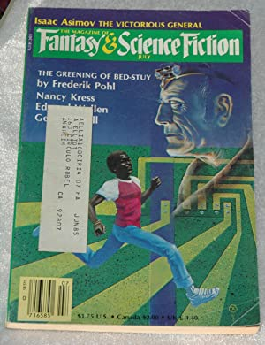 The Magazine of Fantasy and Science Fiction: Kress, Nancy; Bishop,