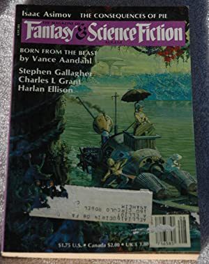 Magazine of Fantasy and Science Fiction August: Vance Aandahl; Augustine