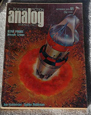 Analog Science Fiction: October 1975: Joseph Green; Spider