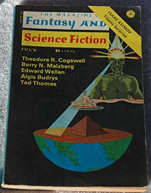 The Magazine of Fantasy and Science Fiction: Edward Wellen; Barry