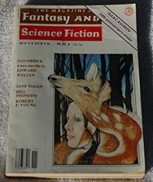 The Magazine of Fantasy and Science Fiction: Edward Wellen, Jane