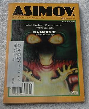 Isaac Asimov's Science Fiction Magazine 1982--March 15: Mary Kittredge, Robert