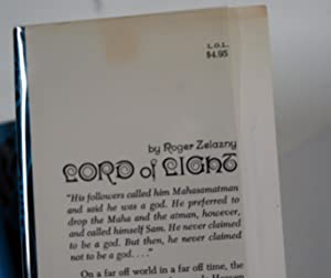 Lord of Light (First Edition): Zelazny, Roger