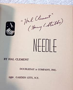 Needle (Signed): Clement, Hal (Harry Stubbs)
