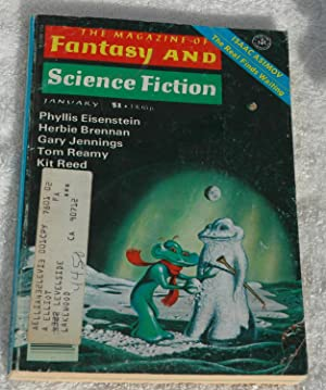 The Magazine of FANTASY AND SCIENCE FICTION: Brennan, Herbie; Reamy,