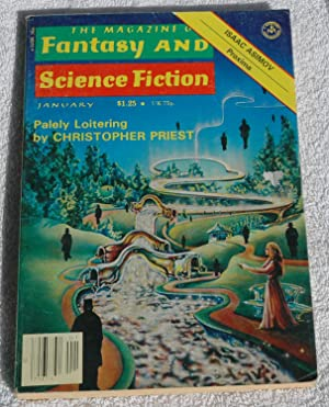 The Magazine of FANTASY AND SCIENCE FICTION: Christopher Priest; Robert