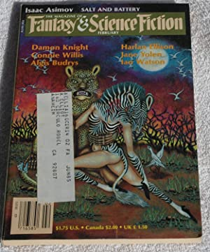 Magazine of Fantasy and Science Fiction February: Willis, Connie /