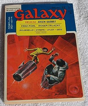Galaxy Science Fiction April 1975: Arsen Darnay; Mal
